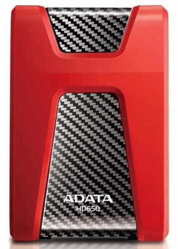 Adata HD650 1TB External Hard Disk Red Price in India