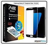 #8: Annant Entp™ Premium Full Screen 0.3mm Pro+ Edge To Edge Coverage 2.5D Curved HD+ Tempered Glass Screen Guard Protector With Original Packaging Kit For Samsung Galaxy S7 - (Black Edition)