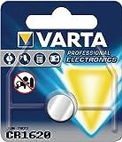 Knopfzelle 3V 60mAh CR1620 16x2mm VARTA Lithium