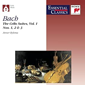 Suite No. 2 in D minor, BWV 1008: Suite No. 2 in D minor, BWV 1008: Allemande