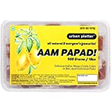 Urban Platter Aam Papad, 500 Grams (Bite-Sized, Individually Wrapped Mango Pulp Candies)