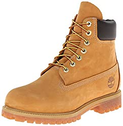 "Timberland Heritage 6"" Premium Waterproof, Men's Cold Lining Ankle Boots, Yellow (Wheat Nubuck), 8.5 Uk (43 Eu)"