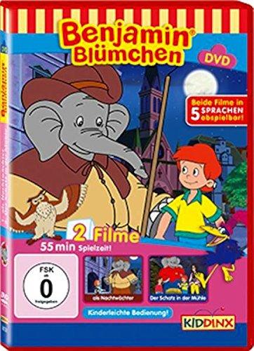 Benjamin Blümchen als Nachtwächter / Der Schatz in der Mühle