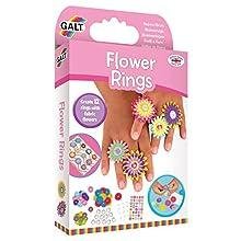 Galt Toys 1005218 Galt Flower Rings, Multi