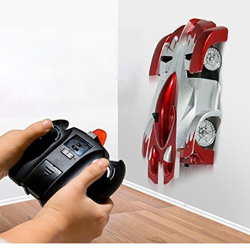 Magic of the Climbing remote control car (moving on the wall) with USB line, Red by ZHMY