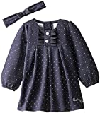 Calvin Klein Baby Girls' Denim Dress wit...