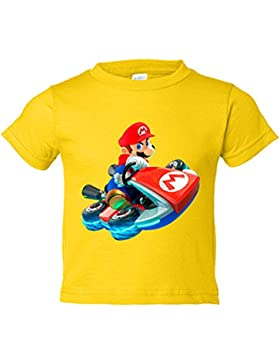 Camiseta niño Super Mario Kart