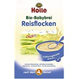 Holle Bio Bébé potage Flocons de riz Lot de 3 (3 x 250 g)