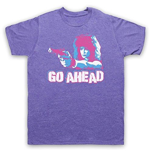Inspiriert durch Weird Science Lisa Go Ahead Unofficial Herren T-Shirt Jahrgang Violett