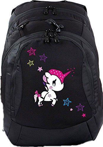Zaino scuola teen compatto borsa scolastica zaino unicorno funny