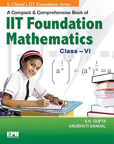 A Compact & Comprehensive Book of IIT Foundation Mathematics - Class 6