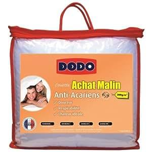 Couette DODO ACHAT MALIN Anti Acariens 140X200cm