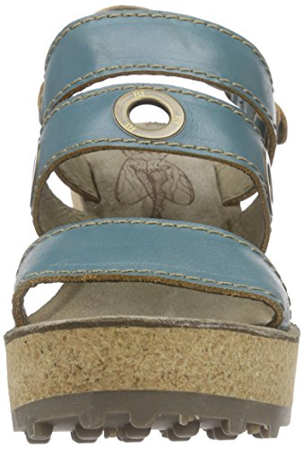 FLY LondonGUSE644FLY - Sandali a Punta Aperta Donna Turchese (Turquoise 004)