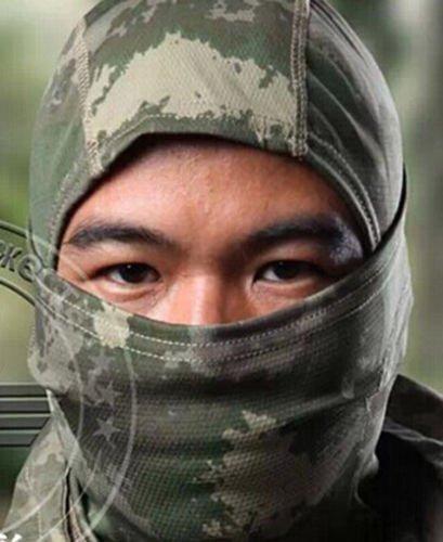 Acido tactical® mimetico transitorie Passamontagna maschera integrale per Paintball softair militare caccia