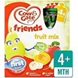 Vache Et Porte Des Fruits Cocktail 100% Fruits Sachets 4 X 90G - Paquet de 4