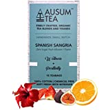 [Sponsored]Ausum Tea Spanish Sangria (15 Teabags) | Herbal Tea With Hibiscus, Strawberry, Orange, Licorice And Herbs | 100%...