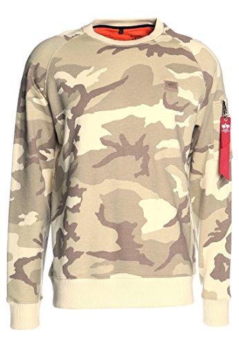 Alpha Industries X-Fit Sweatshirt Creme XS (De Sweatshirt Creme Creme La)