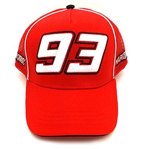 Marc Marquez 93 Moto GP berretto Rosso ufficiale 2016