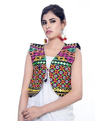 Banjara Women's Jacket (SJK-BLT01_Black_Free)