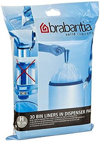 Brabantia Bin Liner H,40-50 Litre-30 Bags (1)