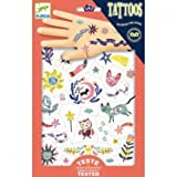Djeco Tattoos leuchtend Sweet Dreams