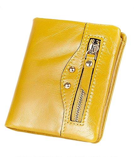 Ragazza Portafoglio in Pelle Borsellino Donne Piccolo Portamonete Donna Porta Carte di Credito