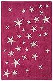 Alfombra infantil niña Carpet moderno Design PLAY KIDS Auto RUG 100% Polypropylen 100x150 cm...