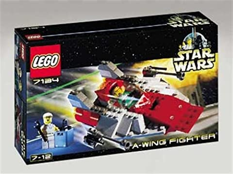 Lego Star Wars 7134 A-Wing Fighter Classic (Lego Star Wars A Wing)