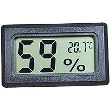 Szaerfa Digital LCD Termómetro Higrómetro Temperatura Humedad -50 ~ 70 ℃ 10% ~ 99% RH