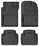WeatherTech trim-to-fit vorne und hinten AVM (schwarz)