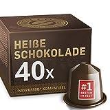 Heiße Schokolade für Nespresso. Cremig und süß. 40 kompatible Kapseln.