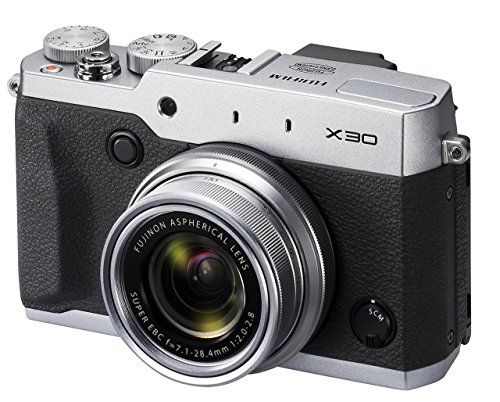 Fujifilm X30 Digital Camera - Silver (12 MP, 4x Optical Zoom)