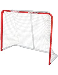 Bauer Deluxe REC Steel Goal, 54 x 44-Inch, Red by Bauer