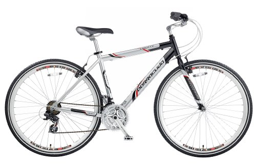 Barracuda Men's Liberty Trekking Bike – Silver/Black ( Wheel 700C, Frame 21 Inch)