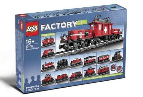 Lego 10183 Custom Factory Hobby Train (japan import)
