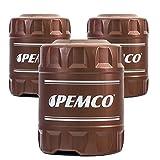 Pemco 3 x 20 Liter, iMATIC 430 ATF DIII Getriebeöl Lenköl Dexron 3