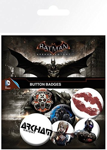 GB eye LTD, Batman Arkham Knight, Mix 2, Set de Boutons
