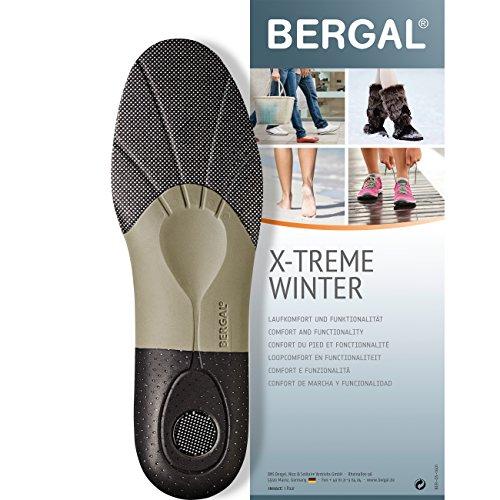 Bergal X-TREME Winter - Einlegesohlen - anatomisch geformtes Fussbett Gr. 36