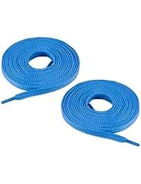 Chris Sol - 1 par de cordones planos para zapatillas - aprox. 7 mm de ancho