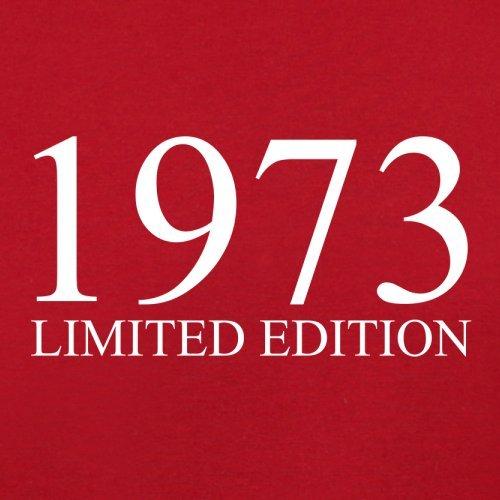 1973 Limierte Auflage / Limited Edition - 44. Geburtstag - Herren T-Shirt - 13 Farben Rot