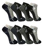 12 Paar Herren Freizeit-Sport Sneaker Socken Füßlinge 39-42 ; 43-46 (39-42)