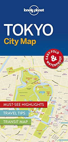Lonely Planet TokyoCity Map (Lonely Planet City Maps)