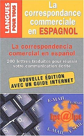 Correspondance commerciale en espagnol