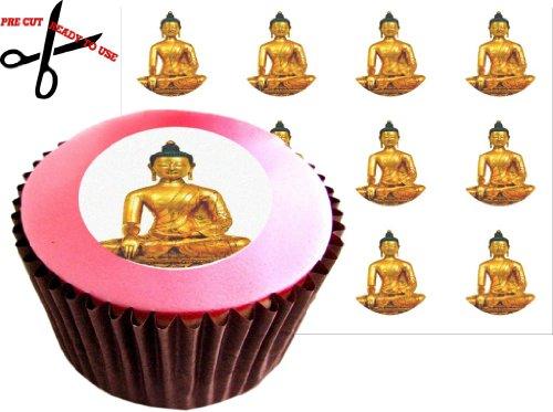 12 tibétain Bouddha 38 mm (1.5
