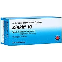 ZINKIT 10 überzogene Tabletten 50 St preisvergleich bei billige-tabletten.eu