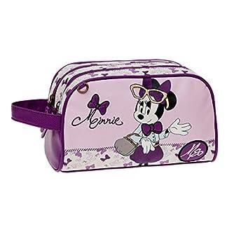 Disney Minnie Glam Neceser de Viaje, 4.99 litros, Color Rosa