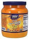 NOW Foods - Proteína de guisante orgánica polvo vainilla Natural - 1.5libras.