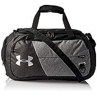 Under Armour Unisex Undeniable Duffle 4.0 Gym Bag, Graphite Medium Heather (040)/Silver, Large