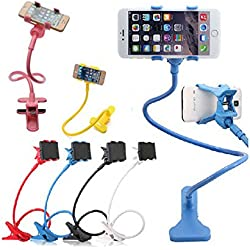 Generic Universal Flexible Car/ Home Mobile Phone/ Mobile Holder Stand For Apple Iphone/Samsung/Android Mobiles(Color May Vary)