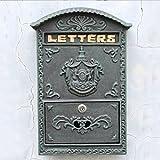 Cassetta postale multifunzione Attaccatura di parete del metallo antico della cassetta delle lettere della cassetta delle lettere della cassetta delle lettere della posta elettronica della lettera